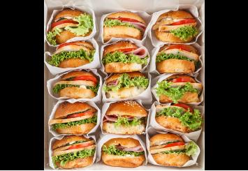 Сендвич сет мясо